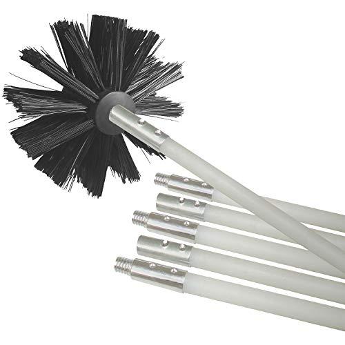 Kit de limpieza de conducto secador de Deflecto se extiende hasta 12pies