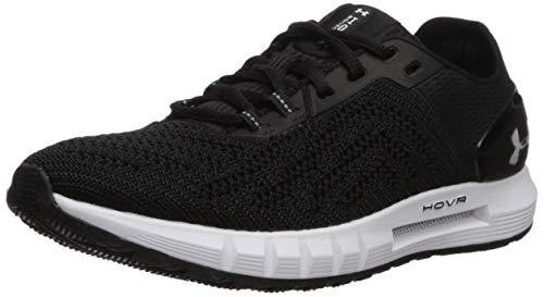Under Armour Women's HOVR Sonic 2 Running Shoe, Black (003)/White, 7.5