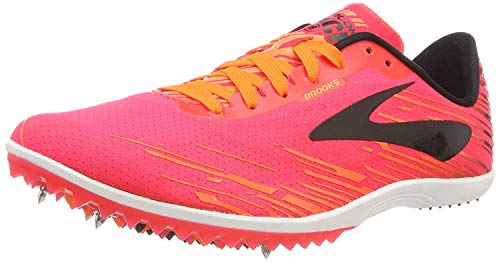 Brooks Mach 18, Zapatillas de Cross Mujer, Multicolor (Pink/Orange/Black 667), 44.5 EU