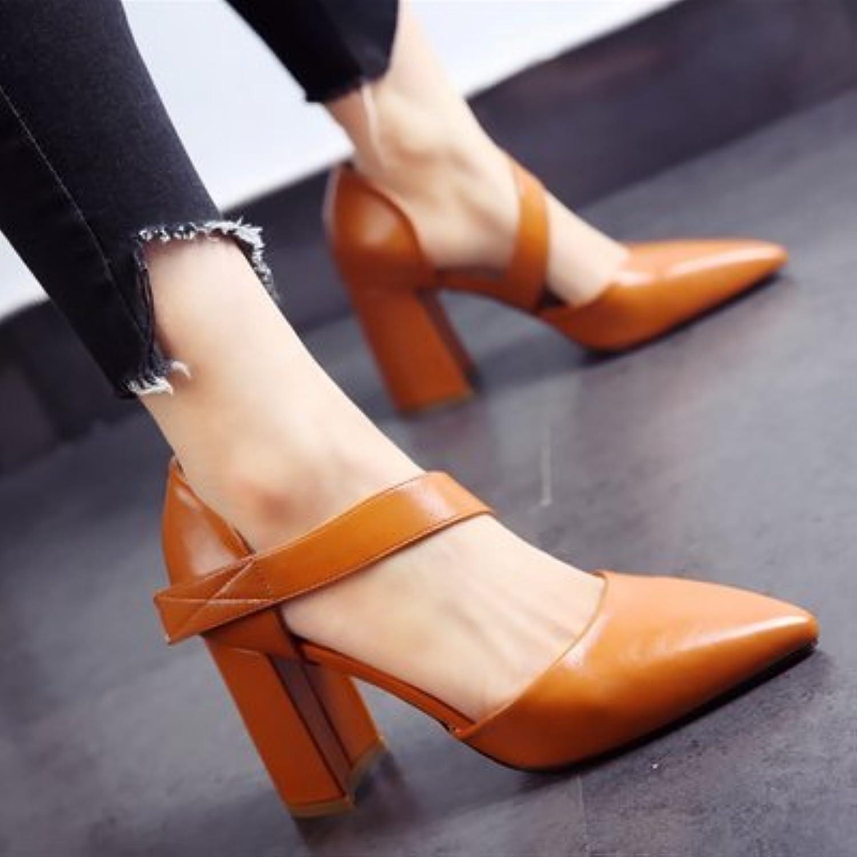 FLYRCX Persnlichkeit Fashion Party Schuhe Schuhe Frühling Frühling Sommer High Heel Schuhe Mode Sandalen Damen
