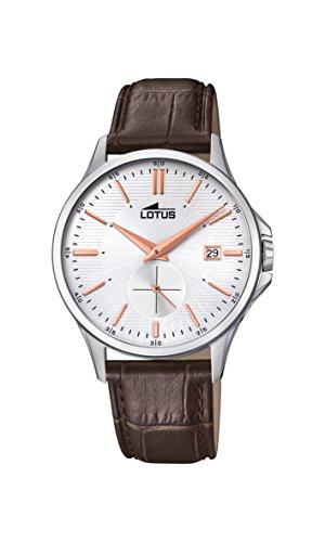 Lotus Watches Reloj Análogo clásico para Hombre de Cuarzo...