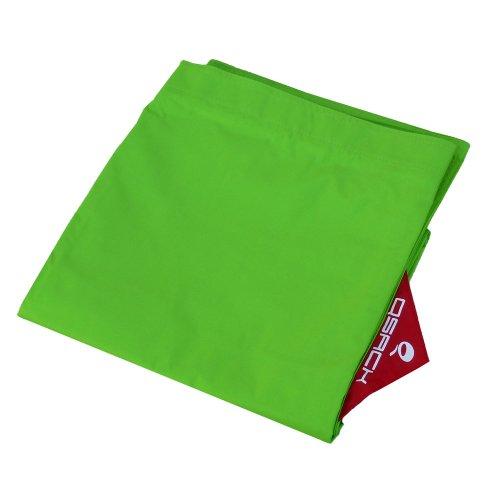 QSack Outdoorer Kindersitzsack Hülle ohne Füllung, Wechsel Bezug Kinder Sitzsack Outdoor 100 x 140 cm, Neu (apfelgrün)