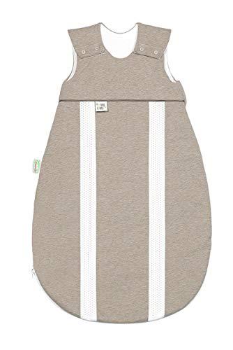 Odenwälder Jersey-Schlafsack primaklima Melange Latte, Größe in cm:90 cm