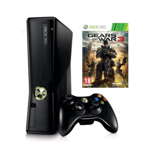 Xbox 360 - 250 GB, Incluye Gears Of War 3