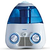 Vicks Starry Night Filtered Cool Mist Humidifier, Medium to Large Rooms, 1 Gallon Tank – Cool Mist Humidifier for Baby and Kids Rooms with Light Up Star Night Light Display, Works with Vicks VapoPads