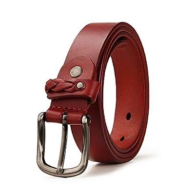 Women's belt full grain leather jeans pants ladies belt