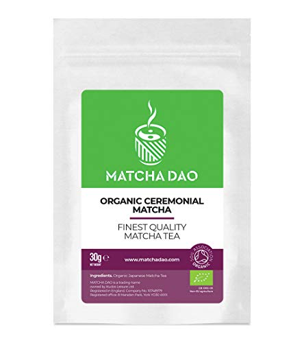 Organic Ceremonial Matcha 30G | Finest Quality Matcha Tea | Healthy & Natural Green Tea