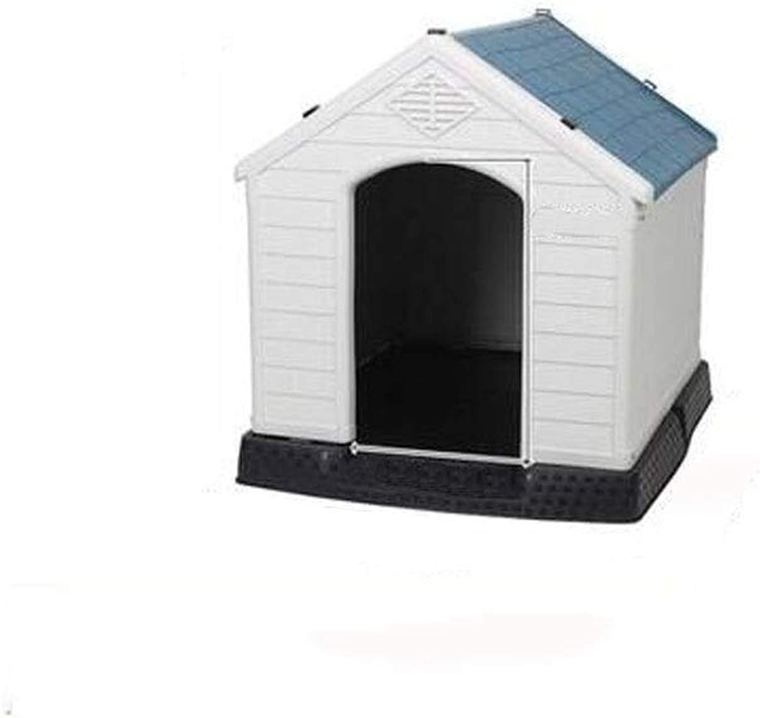 AALIJIN Trumpet dog house large and medium small dogs outdoor plastic pet Teddy dog house indoor kennel waterproof four seasons universal