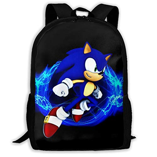 Sonic The Hedgehog 36 Backpack Shoulder Bag Travel Bags Laptop Bag School Bag For Boys Girls Backpacks