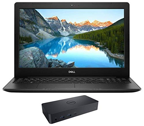Dell Vostro 15 3590 Home and Business Laptop (Intel i7-10510U 4-Core, 8GB RAM, 1TB SATA SSD, AMD Radeon 610, 15.6' Full HD (1920x1080), WiFi, Bluetooth, Webcam, 1xHDMI, Win 10 Pro) with D6000 Dock