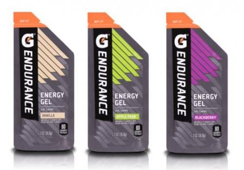 Gatorade Endurance Energy Gel Variety Pack of 21 with Complimentary Gatorlyte Trial