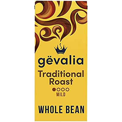 Gevalia Mild Roast Whole Bean Coffee (12 oz Bag)