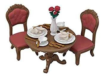 Calico Critters Town Series Furniture Sets Doll House Furniture Calico Critters Chic Dining Table Set