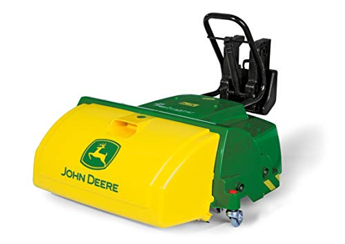 Review Of ROLLY TOYS John Deere Road Sweeper