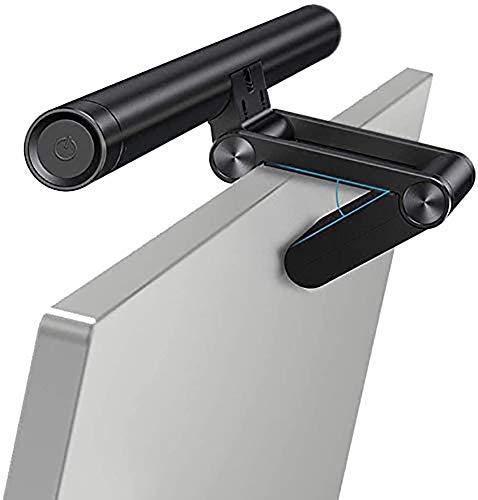 Luz de barra de pantalla E, luz de monitor de computadora - lámpara de lectura para tareas, atenuación continua sin deslumbramiento de pantalla Ajuste de tono Luz de protección para los ojos, protecc