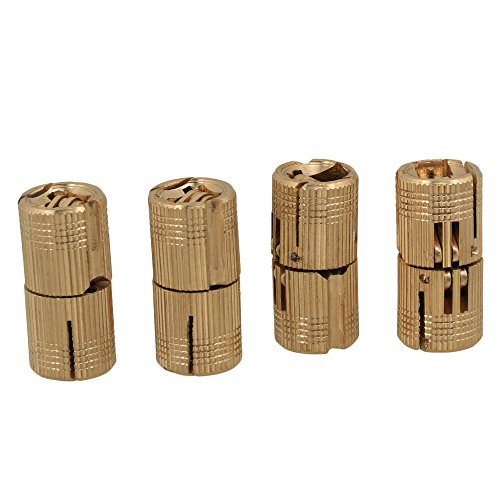 Bisagra de cobre escondida invisible ocultada de 14m m para el paquete de la puerta de madera de DIY de 4