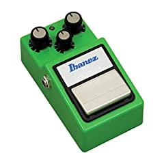 Classic tone Tone, drive, and level controls Tone, drive, and level controls give you access to warm, amp-like overdrive that's touch sensitive and ready to rip The Ibanez TS9 Tube Screamer is a reissue that's just like the original in so many ways S...