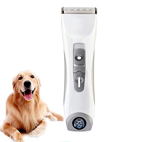 Profi HaarschneiderHunde-Haarschneidemaschinen, wiederaufladbare Trimmer-Hundepflegeklingen Professionelle Haarschneidemaschinen