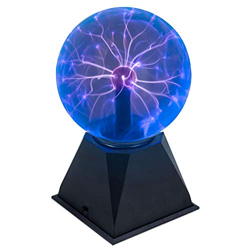 Juguetrónica | Bola Plasma Blueray XL - Formato más grande, color azul