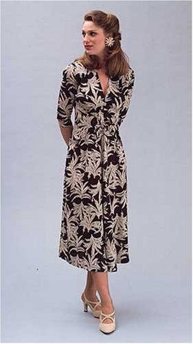 1930's - 1940's Glamour Girl Dress Pattern
