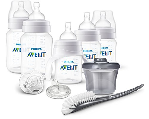 Lowest Prices! Philips AVENT Anti-Colic Bottle Newborn Starter Set, Clear