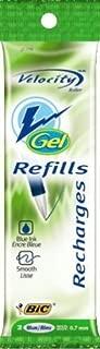 bic velocity gel pen refills