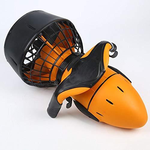 BOBOCHOM Tauchscooter SeaScooter Sea Dog Tauchausrüstung Kind und Erwachsene schwarz-gelb*