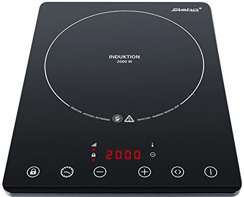 Steba IK 65 slim ultra plat encastrable induction plaque électrique/2000 W/Mobile/Noir