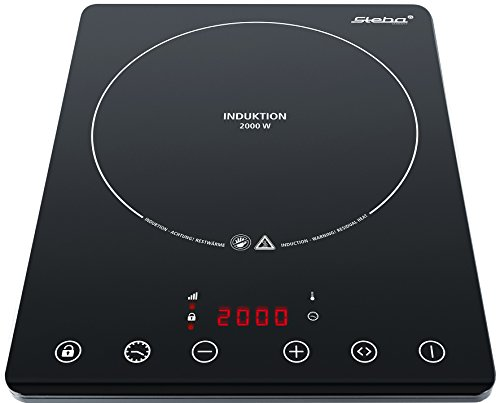 Steba IK 65 slim ultra plat encastrable induction plaque électrique/2000 W/Mobile/Noir