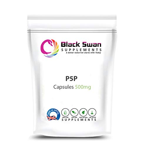 SWN P-5-P Supplement—General Wellbeing—Weight Loss—Bowel Health—Anti-inflammatory- Boosts Immune System—PMS Symptoms—500mg Capsule (120 caps)
