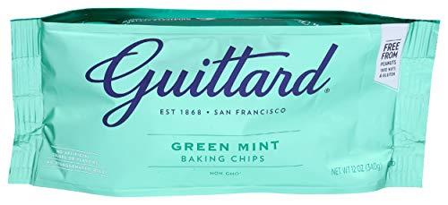 Guittard, Mint Chocolate Baking Chips, 12 Ounce