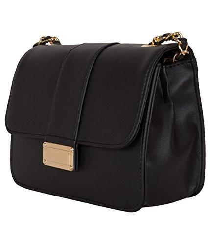 ADISA Women's Sling Bag (SL5013-BLA_Black)