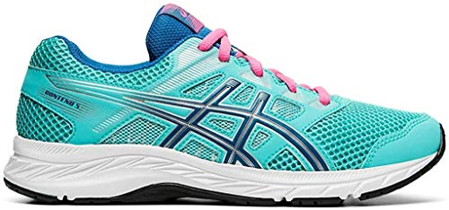 Product Image of the ASICS Kid's Contend 5 PS Running Shoes Ice Mint/Deep Sapphire