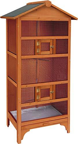 Karlie Voliere Holz Nevada L: 78 cm B: 57 cm H: 157 cm