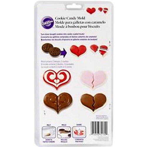 Wilton 0264117 Stampo Ciocco Candy Cuore
