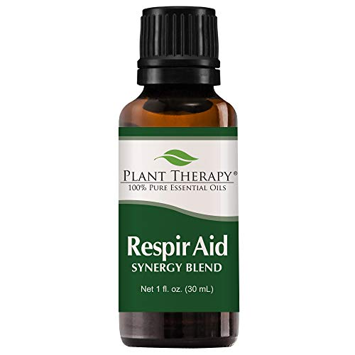 Plant Therapy Respir Aid Synergy Essential Oil 30 mL (1 oz) 100% Pure, Undiluted, Therapeutic Grade