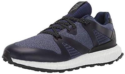 adidas Men's Crossknit 3.0 Golf Shoe, Dark Blue/core Black/Night Metallic, 10.5 M US