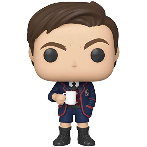 Funko Pop! TV: Umbrella Academy - Number Five w/Chase (Styles May Vary), Multicolor, Estándar