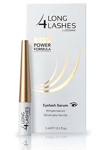 Long 4 Lashes FX5 Power Formula da 3 ml by Oceanic | SIERO RICRESCITA CIGLIA CON NUOVA FORMULA |