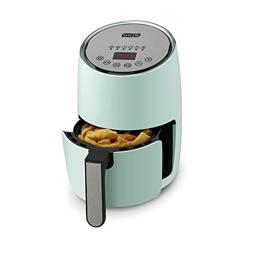 DASH Compact Electric Air Fryer + Oven Cooker with Digital Display, Temperature Control, Non Stick Fry Basket, Recipe...