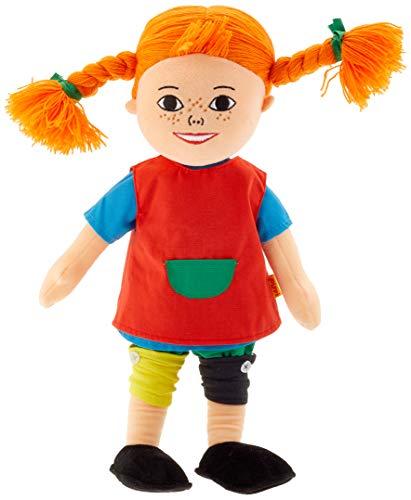 Pippi Langstrumpf 44.3714.00 - Peluche de Pippi Calzaslargas (tamaño Grande, 40 cm Aprox.)