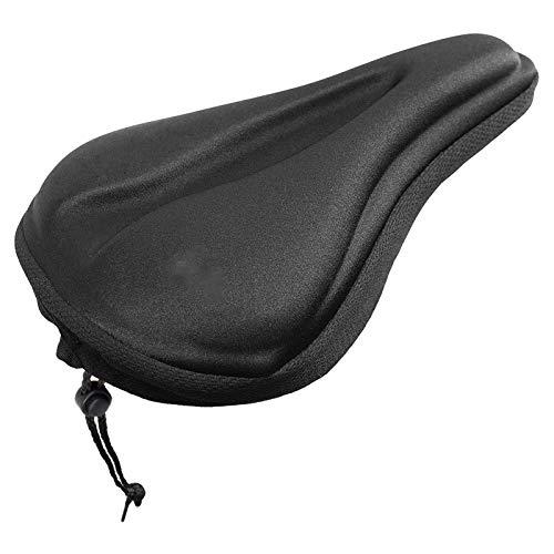 SHUILV Cubierta de Asiento Suave para Bicicletas - Cómoda Suave y Acolchada con Acolchado Acolchado Cubierta Gel CUBIERTE - Cubre Cubiertas Interior ESTABAJO Ejercicio Seguro
