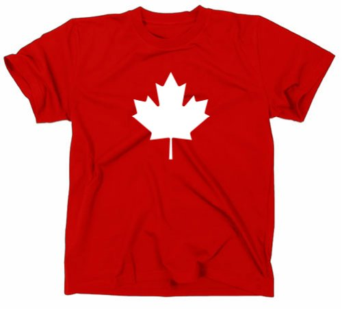 günstig Kanada Kanada Flagge Ahorn T-Shirt Rot XL Vergleich im Deutschland