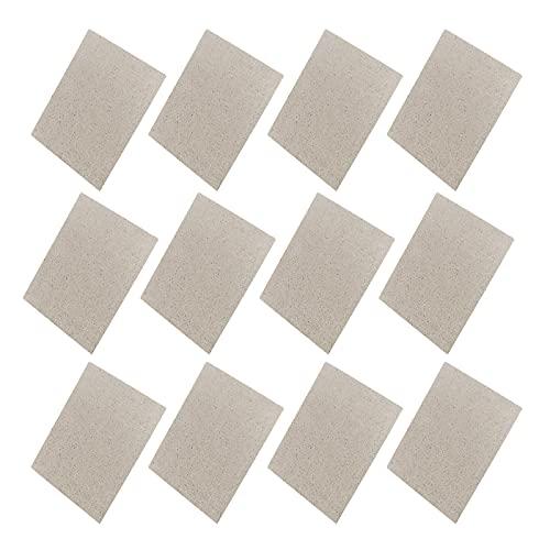 12 Stücke Glimmerplatte Blatt,...