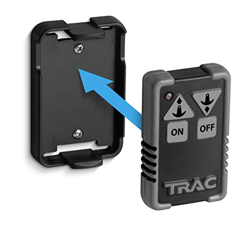 Trac Outdoors Anchor Winch Wireless Remote Kit - Allows Push-Button Anchor Winch Operation from Any Location - For use with TRAC Fisherman 25 & Pontoon 35 Electric Anchor Winches (69041)