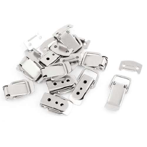 """10 Set 1.9"""" Length Silver Tone Stainless Steel Toggle Latches Locks"""