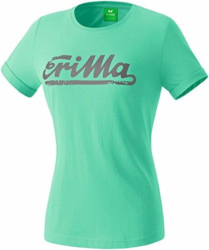 erima Damen T-shirt RETRO t-shirt, neptune green, 38, 2080731