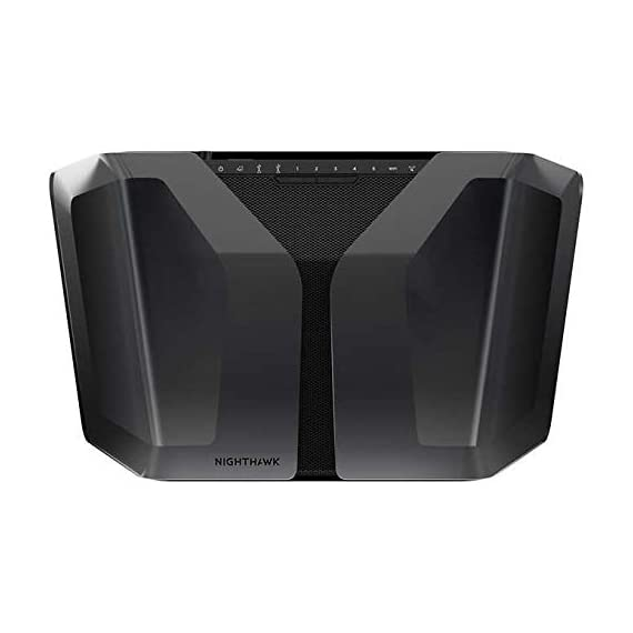Netgear nighthawk ax8 8-stream ax5700 wi-fi 6 router 3 next-generation wifi 6 (802. 11ax) technology for the increasing demand for wireless connectivity high-performance wifi 6 for smart homes with 30 devices. 4x faster speeds than 11ac quad-core 1. 8 ghz processor enables smooth, bufferless 4k/8k ultra-high-definition (uhd) video streaming