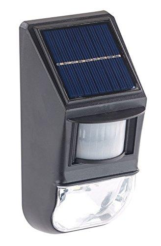 Applique murale solaire à LED 0,5 W avec capteurs de mouvement et dobscurité [Lunartec]