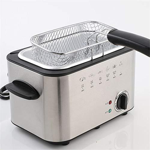 LLDKA Air friteuse, rechthoekige niet-temperatuur elektrisch friteuse, frietjes, gebakken kip kip